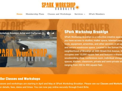 SPark Workshop Brooklyn