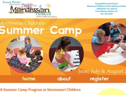 Montessori Children Summer Camp Program