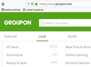 Uisng Groupon to attract more customers