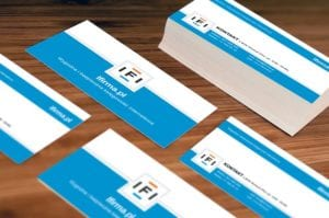 business card basics for success