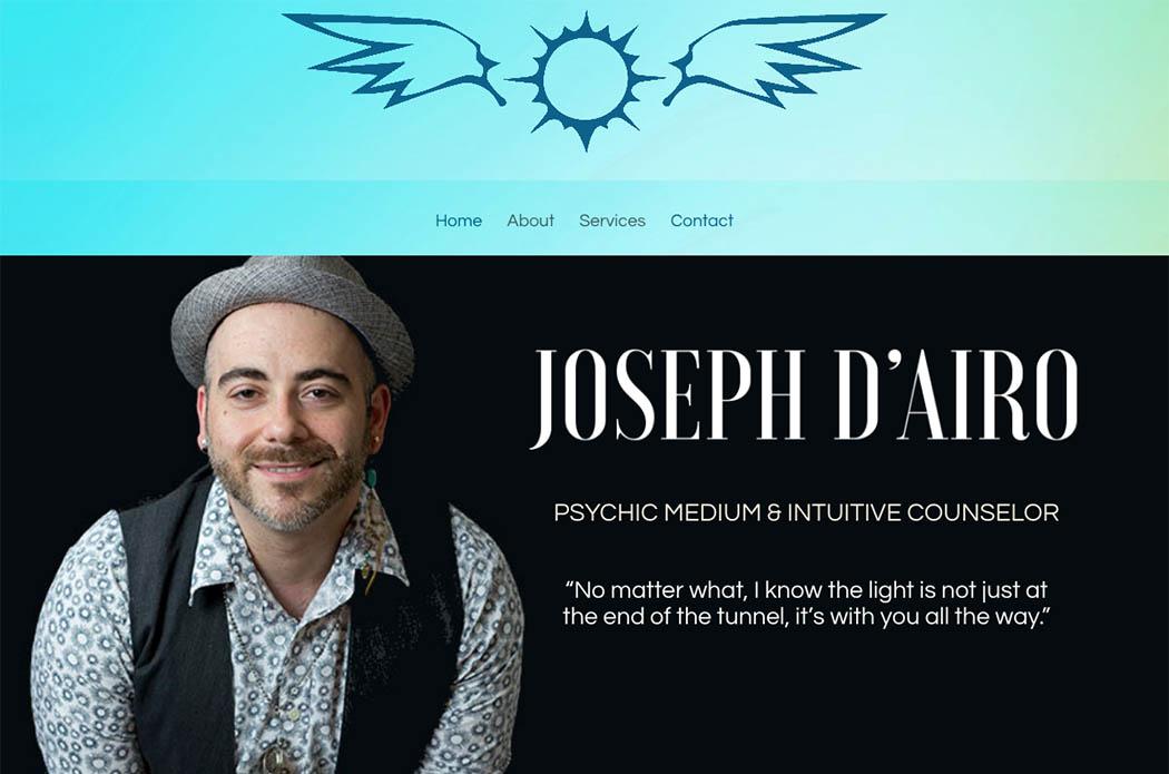 Joseph D'Airo—Website Design