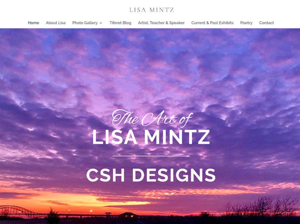 Lisa Mintz Website Design
