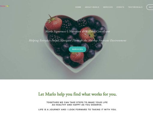 Nutrient Fit Website Design