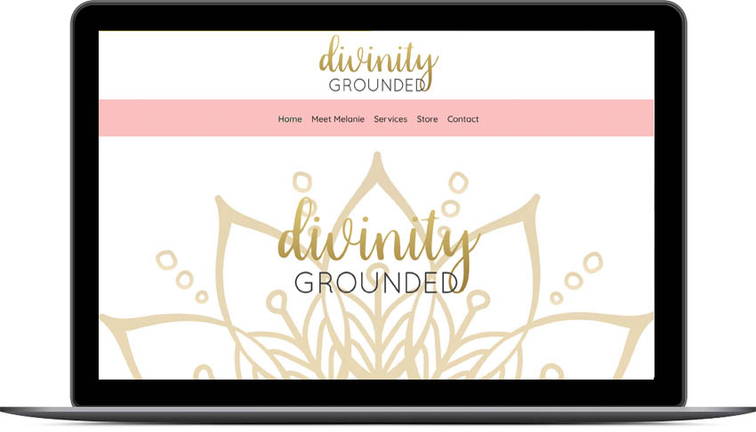 divinity grounded website