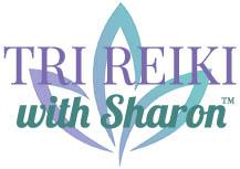 tri reiki with sharon logo design